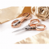 0 353.F.RG.DB Rose Gold Folding Scissors
